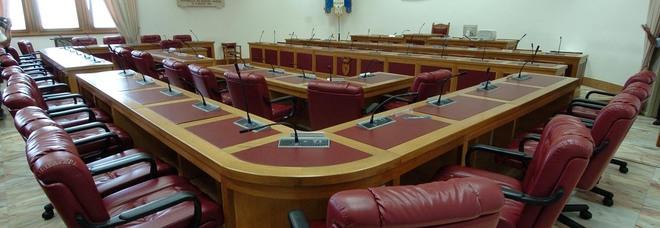 L'aula del consiglio provinciale