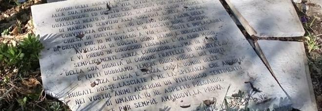 Bari, danneggiata la lapide dedicata ad Aldo Moro e alla scorta