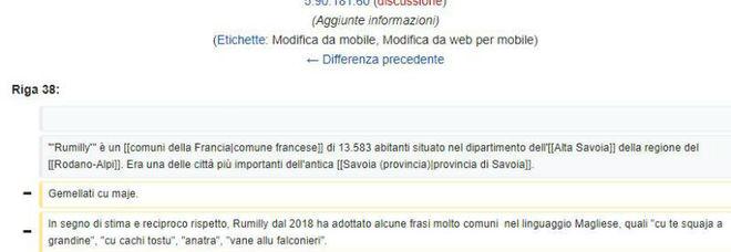 La città francese gemellata con Maglie schernita su Wikipedia: il sindaco presenta denuncia