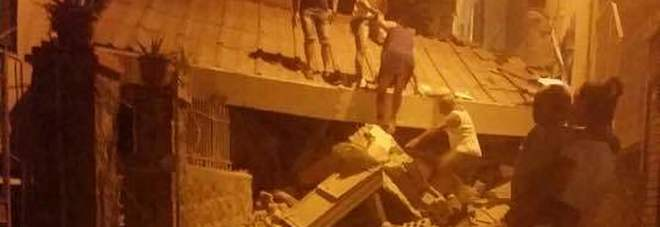 Terremoto Ischia, casa crollata a Casamicciola