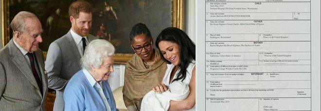 Royal Baby, la verità dal certificato di nascita ufficiale: ecco dove è nato