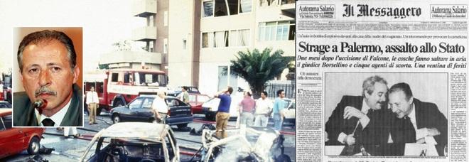 Via D'Amelio: Palermo ricorda Borsellino. La prima volta senza Rita