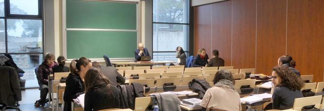 Sessione di esami all'Università del Salento