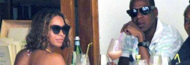 Beyoncé e il marito Jay-Z