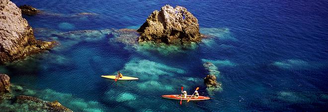 Guida blu, il mare più pulito a Ponza, Ventotene e Montalto
