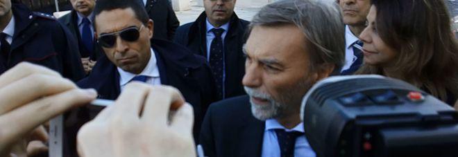 Il ministro Delrio a Brindisi (foto e video: Frigione)