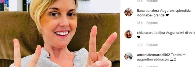 Nadia Toffa su Instagram: «Finalmente ci siamo liberati dei primi 40 anni»