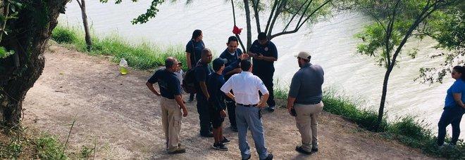 Bimba di due anni dispersa nel Rio Grande al confine Messico-Usa