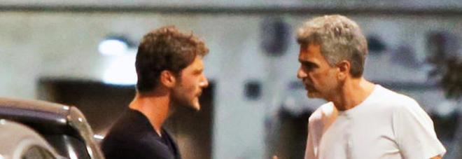Stefano De Martino, lite in strada con il padre di Belen
