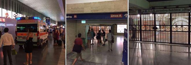 Choc in metro, donna incastrata nelle porte e trascinata: grave