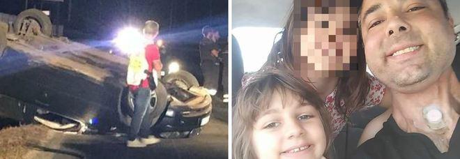 Nettuno, ubriaco e senza patente si schianta contro un palo: muore la figlia di 9 anni, grave la sorellina I parenti tentano di linciarlo