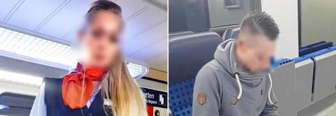 Controllore donna licenziata per video porno sul treno, ai passeggeri diceva: «Non hai il biglietto, giù i pantaloni»