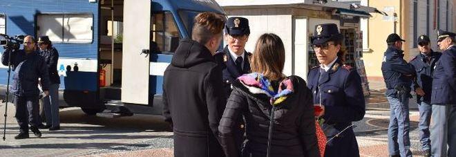 Polizia a Gallipoli