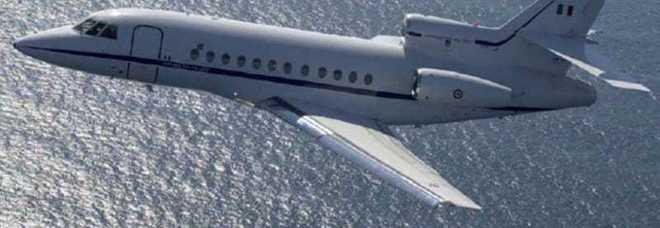 Bimba in pericolo di vita trasportata con il Falcon dell'Aeronautica