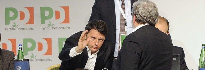 Pd verso il congresso, minoranza: «Renzi sceglie la scissione»