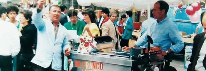 """Addio a Franco dei gelati, """"re"""" delle fanfullicchie"""
