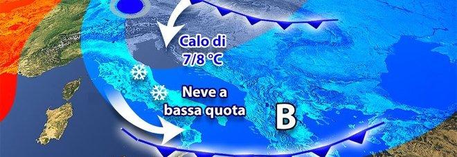 """Meteo pazzo sull'Italia: caldo fino al weekend (20° al Sud), poi Immacolata """"artica"""""""