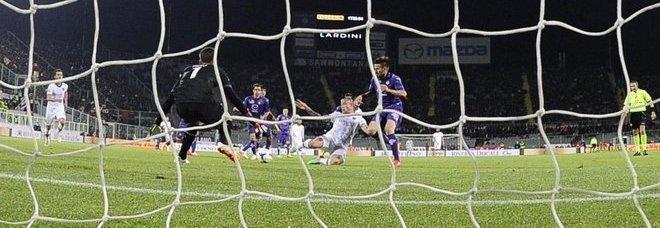 Fiorentina-Roma 0-1: per i giallorossi ora la Champions è matematica