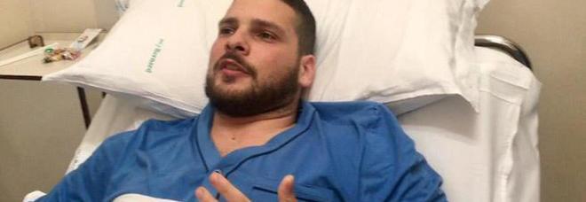 Il carabiniere ferito lascia la terapia intensiva: «Perdonare? Oggi no»