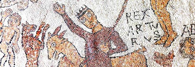 Otranto, particolare del mosaico della Cattedrale