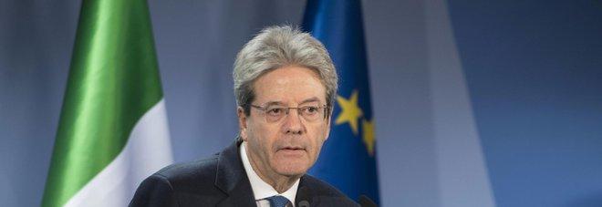 Gentiloni: no all'escalation, non usate basi italiane nell'attacco