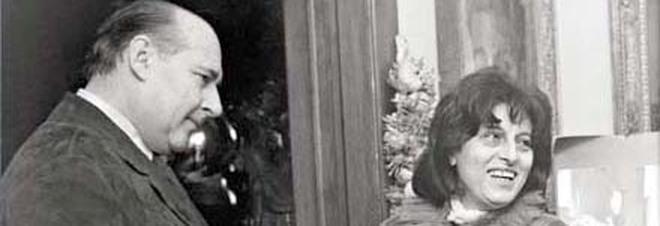 Roberto Rossellini con Anna Magnani