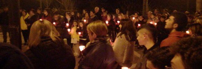 Una fiaccolata per Antonio Pascuzzo a sette giorni dalla sua scomparsa