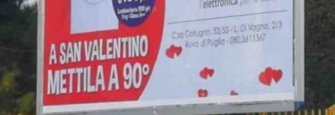 Bari, nuova pubblicità sessista sui 6X3: indignazione sul web