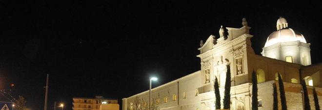 Il convento che incanta: Agostiniani belli di notte