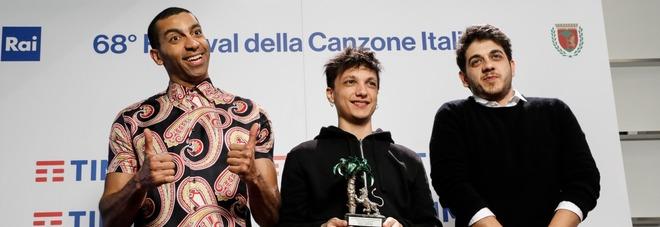 Sanremo, da Ultimo a Mirkoeilcane: «Con noi trionfa Roma»