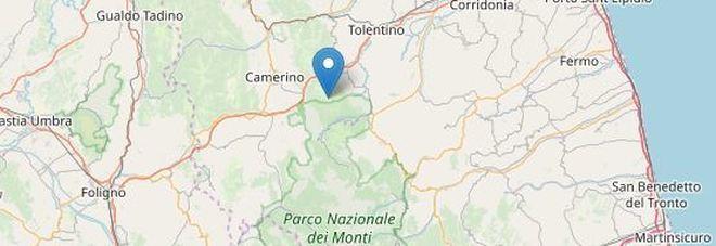 Terremoto di 3.0 a sei chilometri da Camerino: avvertito anche a Macerata