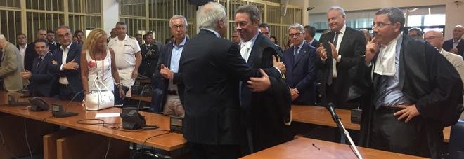 L'insediamento del procuratore della Repubblica di Brindisi, Antonio De Donno