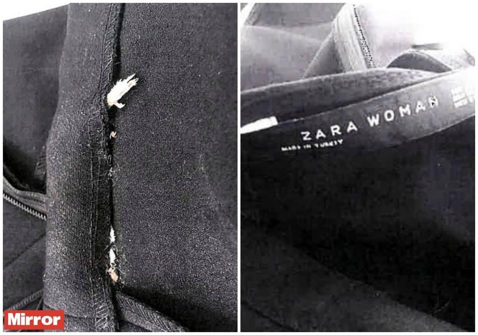 Trova un topo cucito nel vestito di Zara e fa causa all'azienda