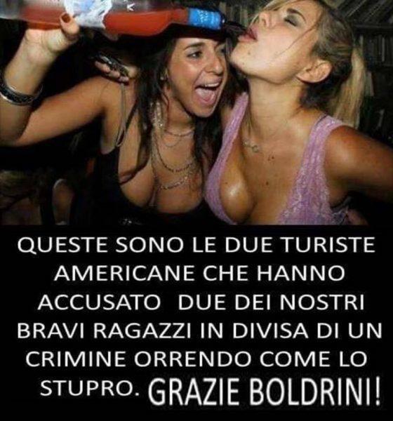 Stupro Firenze, carabiniere: