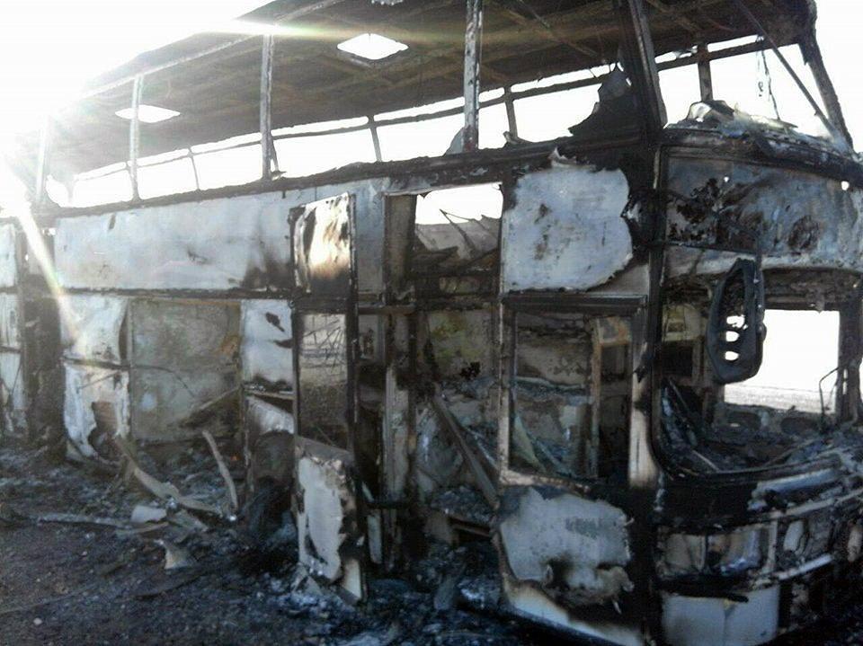 52 persone sono morte nell'incendio di un autobus in Kazakistan