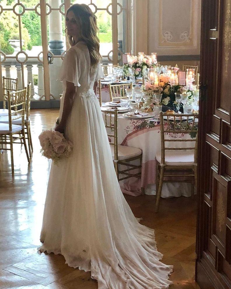 Matrimonio Filippa Lagerback : Matrimonio bossari e filippa lagerback le foto video