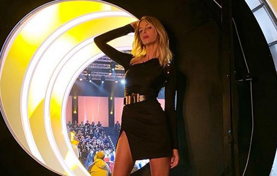 Alessia Marcuzzi si scusa con Riccardo Fogli per il suo comportamento